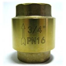 "Обратный клапан 3/4"" пласт. затвор"