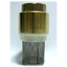 """Обратный клапан 3/4"""" пласт. затвор с фильтром"""