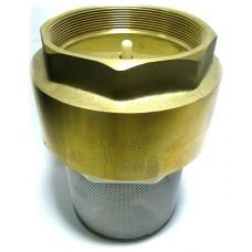 """Обратный клапан 4"""" пласт. затвор с фильтром"""