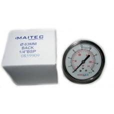 Манометр (0 - 16) глицериновый осевой 63мм