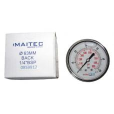 Манометр (0 - 60) глицериновый осевой 63мм